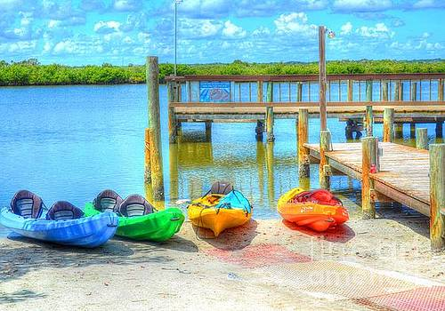 Four Kayaks by Debbi Granruth