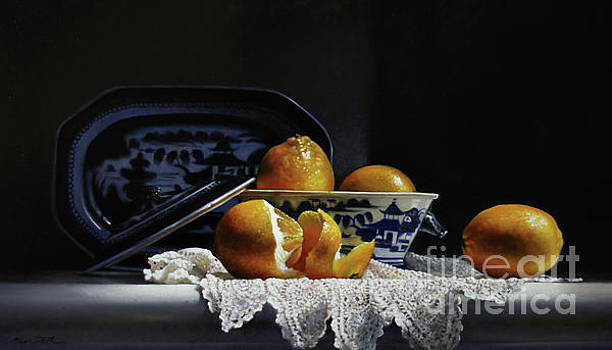 Four Lemons With Canton by Larry Preston
