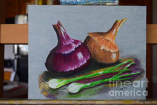 Four Onions by Melvin Turner