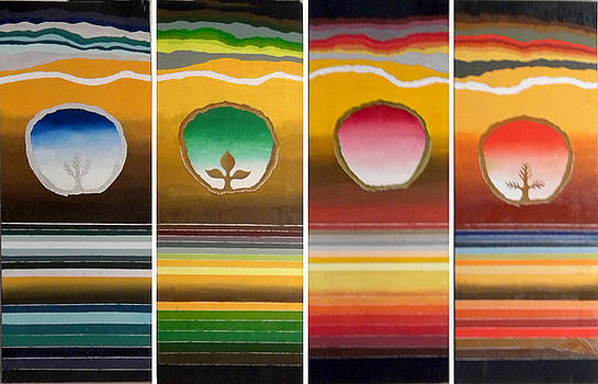 Four Seasons by Miriam Besa