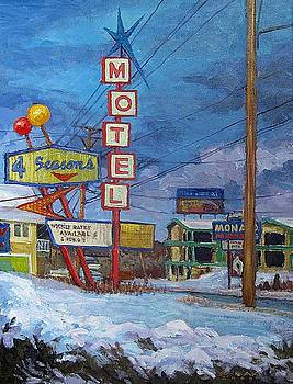 Four Seasons Motel by Dale Knaak