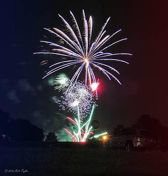 Fourth Of July Fireworks by Matt Taylor