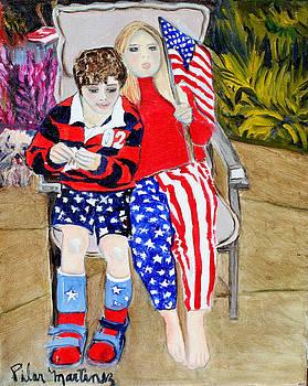 Fourth of July by Pilar  Martinez-Byrne