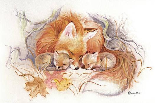 Fox Den Snug by Tracy Herrmann