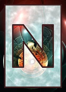 Anastasiya Malakhova - Fractal - Alphabet - N is for Night Vision