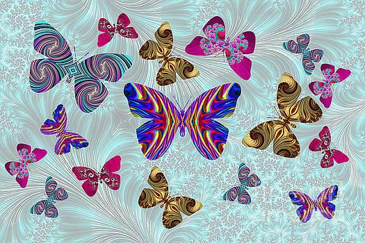 Steve Purnell - Fractal Butterfly Paradise
