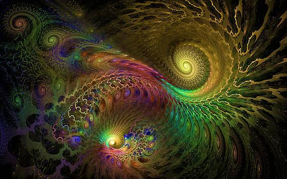 Fractal Swirls by GJ Blackman