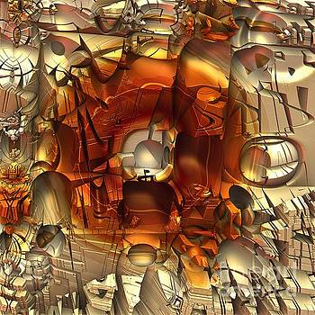 Fractal Within A Fractal by Michelle H