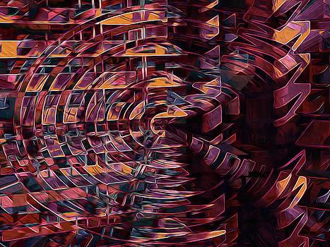 Fragmenting the Daylight 10 by Lynda Lehmann