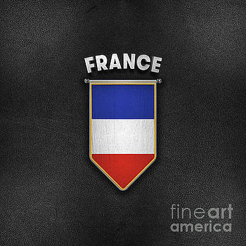 France Pennant with high quality leather look by Carsten Reisinger