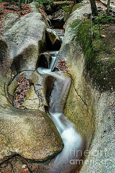 Franconia Waterfall by John Greim