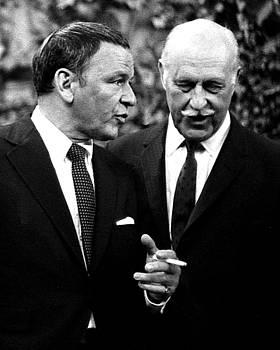 Frank Sinatra and Drew Pearson, 1967 by Wayne Higgs
