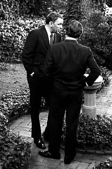 Frank Sinatra and Jack Valenti, 1967 by Wayne Higgs