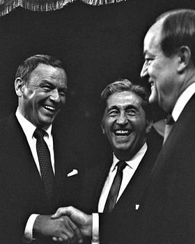 Frank Sinatra and Vice President Hubert H. Humphrey, 1967 by Wayne Higgs
