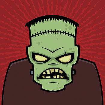 Frankenstein Monster by John Schwegel