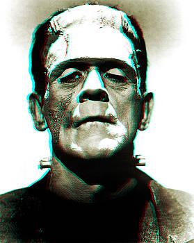 Frankensteins Monster Karloff by Joy McKenzie