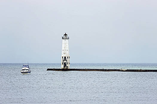 Frankfort North Breakwater by Tammy Chesney