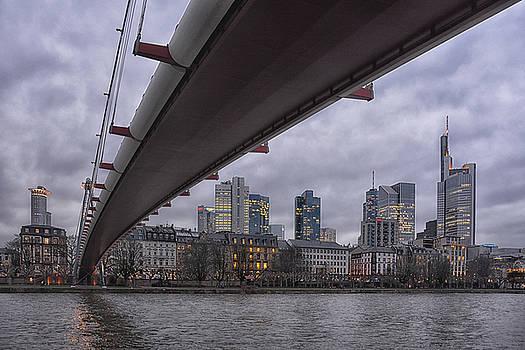 Frankfurt Mainhattan by Joachim G Pinkawa