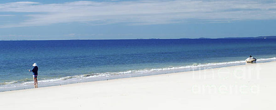 Fraser Island - West Coast by Geoff Childs
