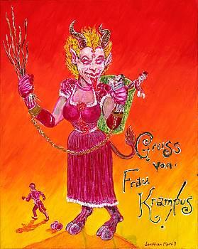 Frau Krampus by Jonathan Morrill