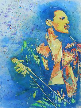 Freddie Mercury  by Robert Nipper