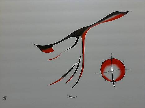 Free Flight by Peter Hawke Hill