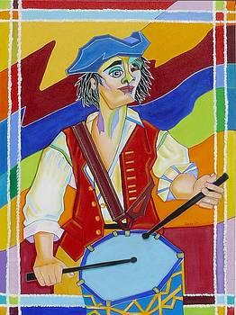 Freedom Drummer by Loretta Orr