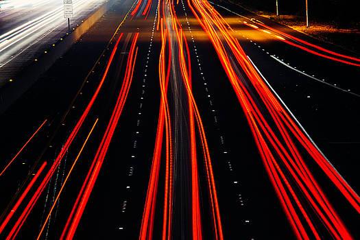 Freeway Lights by Garry Gay