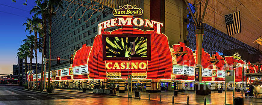 Fremont Casino Entrance by Eric Evans