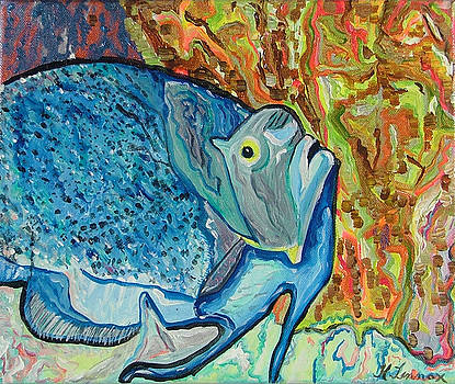 French Angle Fish by Heather Lennox