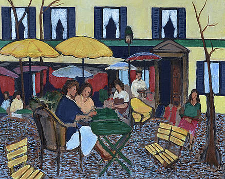 French Cafe by Wade Binford