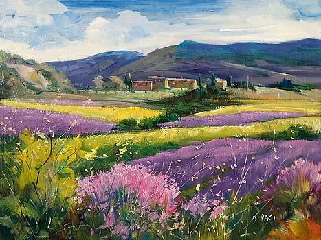 French landscape by Alessandra Paci