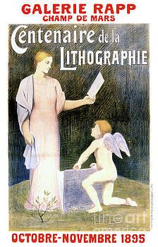 French Vintage Exhibit Poster Restored by Carsten Reisinger
