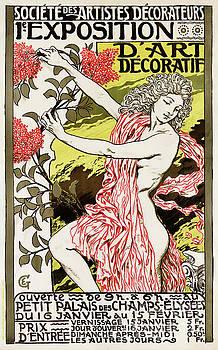 French Vintage Poster 1894 Restored by Carsten Reisinger