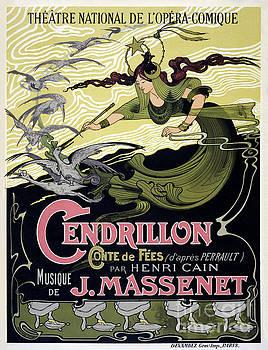 French Vintage Poster 1899 Restored by Carsten Reisinger