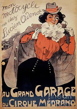French Vintage Poster ca. 1890 Restored by Carsten Reisinger