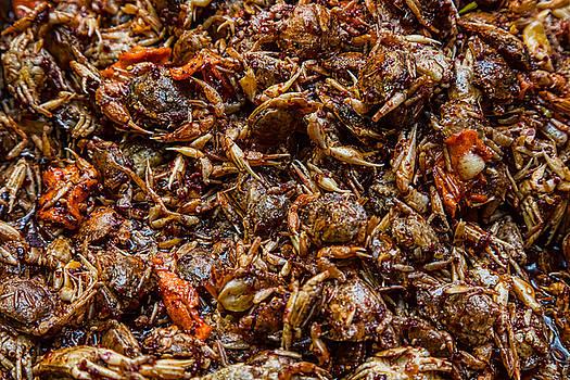 Fresh Crab Korean Market by James BO Insogna