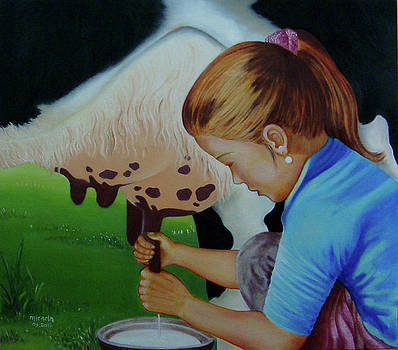 Fresh Milk by Desiree Micaela