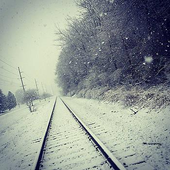 Fresh Snow on the Tracks by Dan McCafferty
