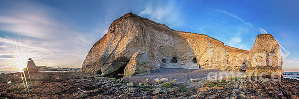 Freshwater Bay Panorama by English Landscapes