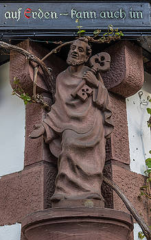Friar in Rudesheim by Teresa Mucha