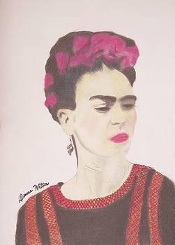 Frida Kahlo by Donna Wilson