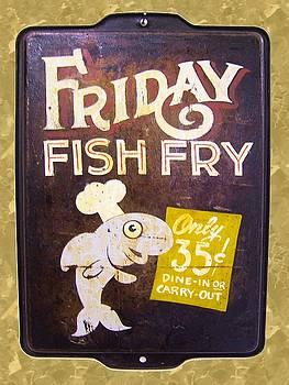 Friday Fish Fry by William Krupinski