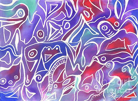 Friendly Maze by Carolyn Weir