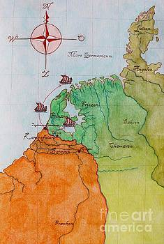 Friesland during the time of the Roman empire by Annemeet Hasidi- van der Leij