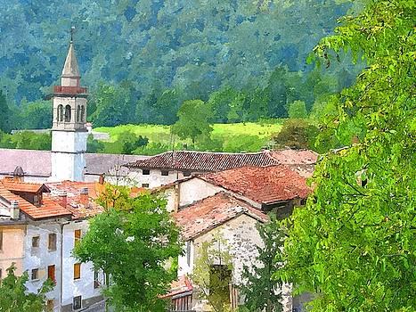 Friuli village by Irene Beumer-Zanini