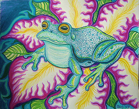 Nick Gustafson - Frog and Flower