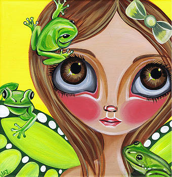 Frog Fairy by Jaz Higgins