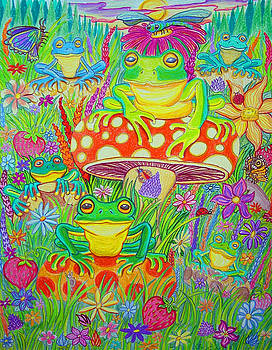 Nick Gustafson - Frogs and Mushrooms