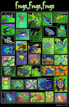 Nick Gustafson - Frogs Poster